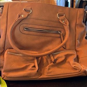 Sole society cognac color purse - never used